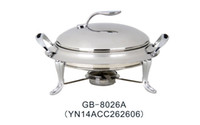 Wholesale Best sale stainless steel cm chafing dish food warmer kitchen ware round chafing dish from China