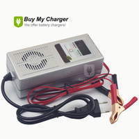 Wholesale Intelligent V A Car Lead Acid Battery Charger Reverse Pulse Charging Desulfation Auto Vehicle Battery Maintence