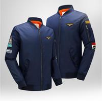 air force flight suit - 2016 Casual Men Jacket Coat the Royal Air Force One American MA01 Slim Baseball Jacket Suit Jacket Hoody Flight suit tide