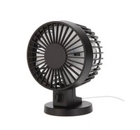 abs timer - Portable Ultra quiet Mini USB Desk Fan Creative Home Office ABS Electric Fans Mute Desktop Fan With Double Side Fan Blades