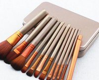 Wholesale New Arrival set Makeup Brush kit Sets for eyeshadow Brushes Cosmetic Brushes Tool set Free Ship