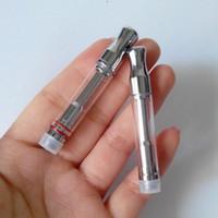 Wholesale Pyrex glass tube A3 atomizer CBD hemp vaporizer Oil Cartridge tank For BUD Touch O pen e cigarette vape mods e cig