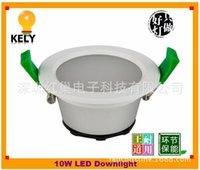 Wholesale 10W lm led downlight kit including the external power supply cutout mm or mm LED beam SAA Dimmable lamp