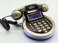 Wholesale Antique telephone caller CID Classic European LED Back Color Modern Phone