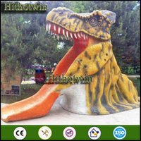 amusement playground equipment - by theme park dinosaur park playground museums Amusement Park Kids Equipment Fiberglass Dinosaur Statue
