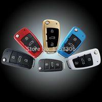 audi tt key - Car key ABS protective cover case bag Fit for AUDI A1 A6L A4 Q7 Q3 A3 TT R8 Folding edition