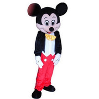 Wholesale Mickey Mouse Mascot Costume Halloween Party Dress EPE Adult Size