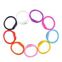 Kids Candy Color Anion Podomètres Silicone Fitness Tracker Silicone Wristband Bracelet Podomètre Potable Extérieur Outils 2503019