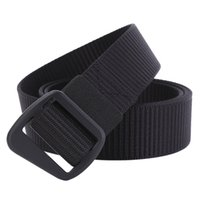 army webbing belt - JasGood Military Style Belts Men s Nylon Casual Straps Army Outdoor Tactical Webbing Waistbands cm Smooth Buckle Men Belts