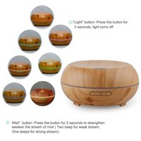 Wholesale 2016 newest ml ultrasonic aroma diffuser wood grain