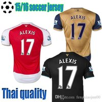 Wholesale 2015 free to send purchase football service number Ramsey Sanchez Mesut Ozil jersey jersey