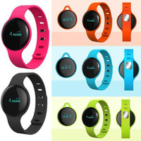 Wholesale Freeshipping Bluetooth Smart Bracelet Band Sport Fitness Wristband H8 with Pedometer Step Calories Count Sleep Monitor Life Level Waterproof
