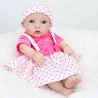 baby simulators - Newborn Full Body Silicone Bebe Doll Reborn Inch Vinyl Realistic Collectible Boy Doll Reborn Baby Simulator Dolls For Sale