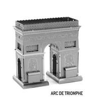 arc modelling - In business DIY Arc De Triomphe D three dimensional puzzle metal simulation model Metallic puzzle Metallic Nano Puzzle INBTG3P001