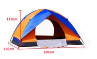 Wholesale Brand New wear resistant waterproof pe bottom Seasons Waterproof UV Outdoor Hiking double resident Camping Tent
