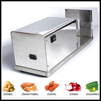 automatic french fry cutter - Electric spiral potato cutter for sale automatic tornado potato vegetable slicer machine supplier