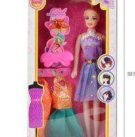Wholesale Girl s favorite gift The new change nv toys by installing a barbie doll