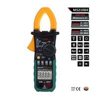 ac current capacitor - Digital Multimeter Amper Clamp Meter MS2108A Current Clamp Pincers AC DC Current Voltage Capacitor Resistance Tester