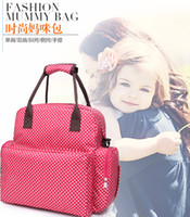 Wholesale multi functional baby can lie mummy bag Fashion Diaper mother bag Are pregnant expectant urine cloth