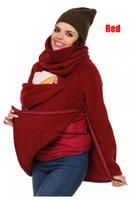big baby carrier - Autumn Winter New Fashion Moms Kangaroo Hoodies Womens Turtleneck Baby Carrier Jacket Big Pocket Women Sweatshirts Hoodies