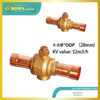 ball valves design - 1 quot Compact lightweight hermetic welded design Ball Valve with Bi directional flow characteristics