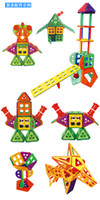 big constructions - Magnetic Sheet Blocks set Changed Tyra Magnetic Blocks Magnet Assembly Construction Of Educational And Intelligence Toys For Children