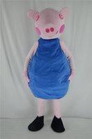 adult spongebob costumes - 2016 new style fancy dress Spongebob blue Pig Mascot Costumes Christmas halloween easter Performance Animal adults costumes