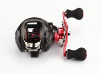 Wholesale Bait Casting Ratio Powerful Gear Lure Reel BB baitcasting Right Reel Bag Low Profile Fishing Tackle