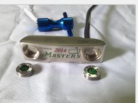 Wholesale 2014 Golf clubs Masters Hand Crafted Putters inch With steel shaft PC Masters Golf Putter Come headcover