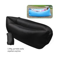 adult folding chair - 2016 hot selling portable folded inflatable hangout fast inflatable sleeping bag inflatable lazy air bed beach air sofa chair