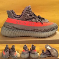 autumn shoes - t Boost V2 Stealth Grey Orange SPLY BB1826 Beluga Men And Women Running Kids shoes US