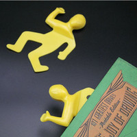 Wholesale Dead Mark Squashed Flat Book Mark Cute Work Bookmark Tragic Page Trackers Novelty Items