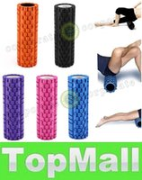 Wholesale LAI Colors High Density Floating Point Fitness Gym Exercises EVA Yoga Foam Roller for Physio Massage Pilates Tight Muscles Yoga block
