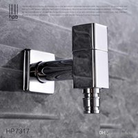Wholesale Han Pai Brass Garden Faucet Decorative Outdoor Faucets Washing Machine Connector Tap Bibcock Laundry Utility Faucets Robinet HP7317