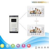 Wholesale XSL V70A V2 Multi apartment inch and intercom video door phone