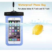 Wholesale New arrival S waterproof bag swimming bag for cash mobile phone inch cards etc use in beach pool swimming pool acessory
