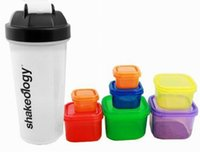 athletes good - Shakeology Shaker Blender Cup Bottle Sporting Goods Larger Capacity Hot Water Meal Containers with Plastic Material for Athlete