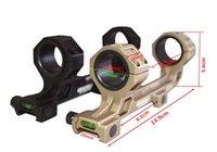 achat en gros de rapide portée de montage de presse-Geissele Automatics Super Précision Quick Release 25mm / 30mm Rifle Scope Mount 05-417B Noir 0 MOA W / Spirit Level Avec Monture QD