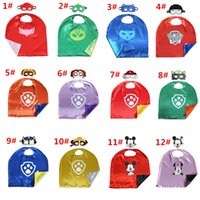 Wholesale 12 Styles New Double layer cm kids cape Amaya Connor Greg Costume for Children Halloween Party Kid s Costume