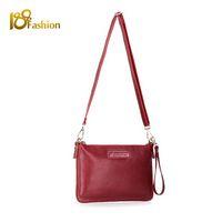 banks shoulders red - Leather Women Messenger Bags Handbag Women Fashion Crossbody Shoulder Bags Envelope Clutch HB Cheap bags bank