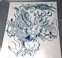 cheap chinese dragon tattoo art free shipping chinese dragon tattoo art under 100 on. Black Bedroom Furniture Sets. Home Design Ideas