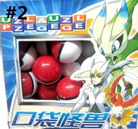 Wholesale Hot sale Poke balls ABS classic Action Anime Figures PokeBall Fairy Ball Super Ball Master Ball Kids Toys Gift