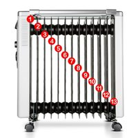 bathroom electric radiator - electric heater for household heating radiator timing high end oil heater