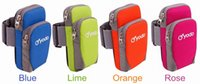 Wholesale 50PCS YODO Sports Running Jogging Gym Armband Arm Band Holder Bag For Mobile Phones Colors DHL Shipping