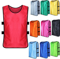Wholesale 2016 Training Vest jersey Football Basketball Soccer training vest Colors T shirts Custom made Children Adults Plus size Fast DHL