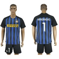 Wholesale Thailand Quality Inter Milan Soccer Jerseys JOVETIC home away white ICARDI PALACIO KONDOGBIA football shirts