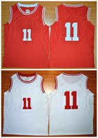 american youth sports - Youth Isiah Thomas Yogi Ferrell Mens Sport JerseyRed White American College Men Basketball Jersey Size S XXL