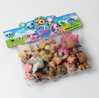 bags cat toys - 200pcs LPS Toy bag bag Little Pet Shop MiniFigures Toys Littlest Animal Cat patrulla canina dog Action Figures Kids toys WJ1342