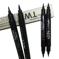 Wholesale NYX EYELINER PENCIL Double Headed makeup eyeliner pencil Black Color liquid eye liner