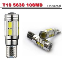 Wholesale T10 smd Led Canbus Car Smd Light W5W Bulb No Obc Error Clearance Light Turn Wedge Light Side Lamp Bulb High Quality